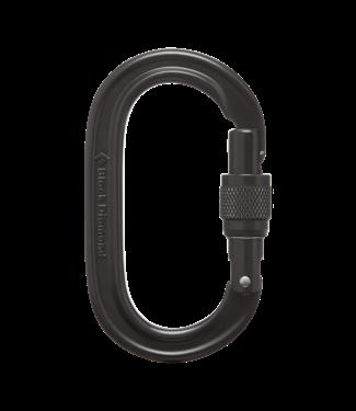 Black Diamond Oval Keylock Screwgate Carabiner