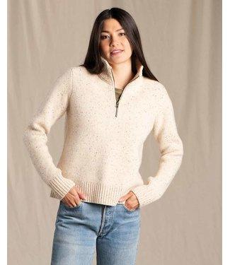 Toad & Co W's Wilde 1/4 Zip Sweater