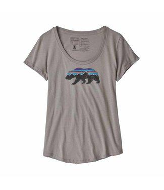 Patagonia W's Fitz Roy Bear Organic Scoop T-Shirt