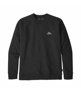 Patagonia M's Small Flying Fish Uprisal Crew Sweatshirt