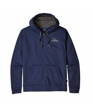Patagonia M's Small Flying Fish PolyCycle Full-Zip Hoody