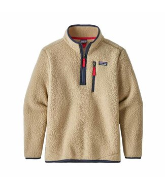 Patagonia Boys' Retro Pile 1/4 Zip