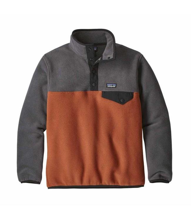 614b17fbdaf Patagonia Boys  Lightweight Synchilla Snap-T Pullover