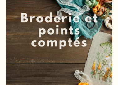 Broderie et points comptés