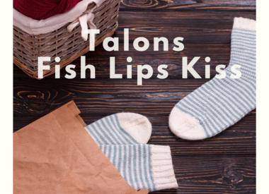 Fish lip Kiss heel
