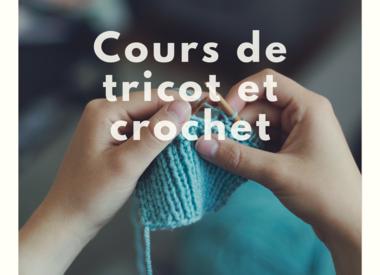 Cours de tricot et crochet