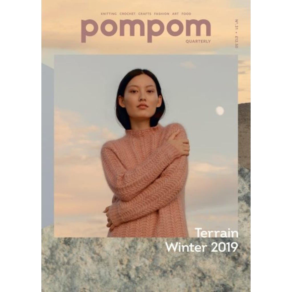 Livre, PomPom Quarterly Winter 2019 - Terrain Issue 31