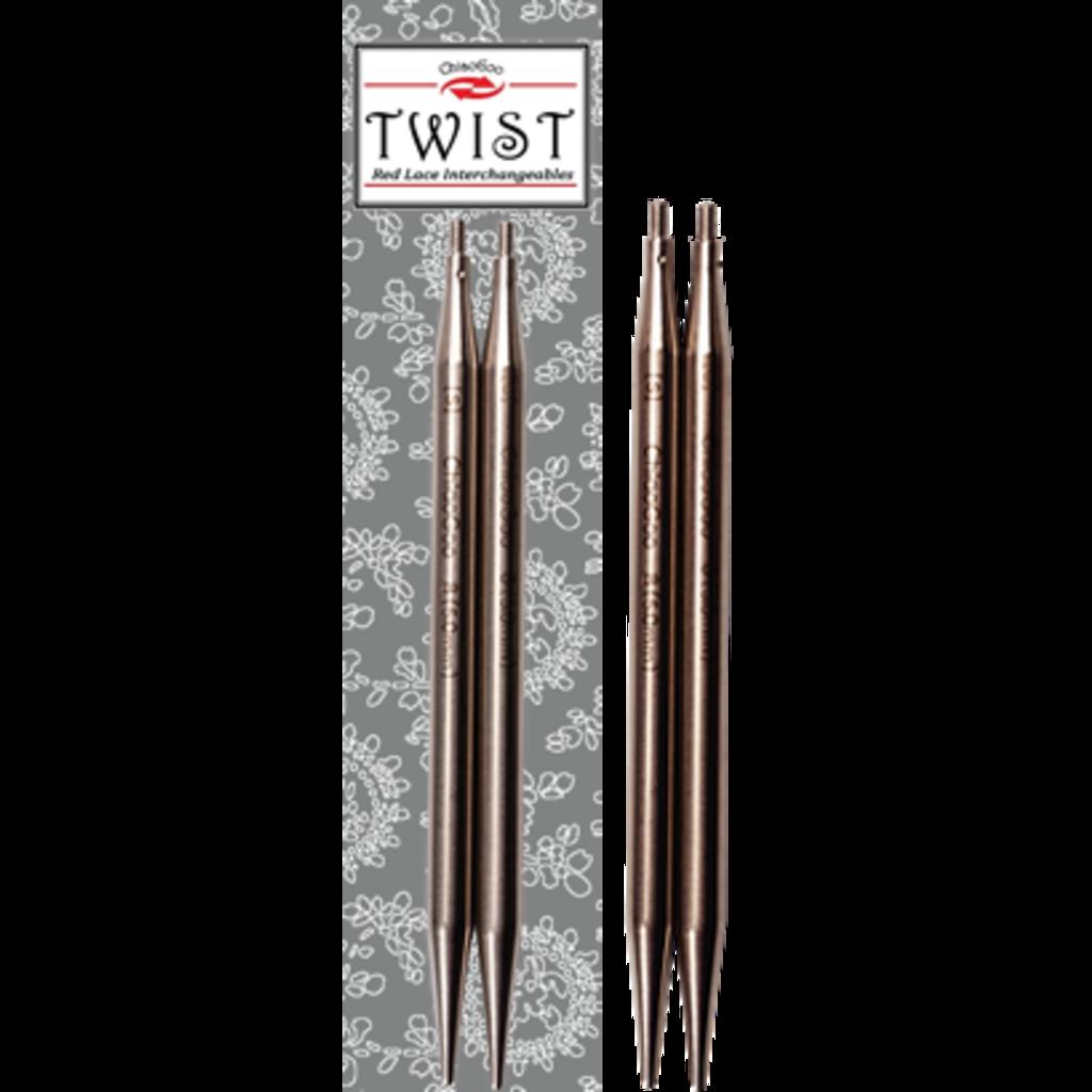 ChiaoGoo ChiaoGoo, Twist interch lace tips 5''