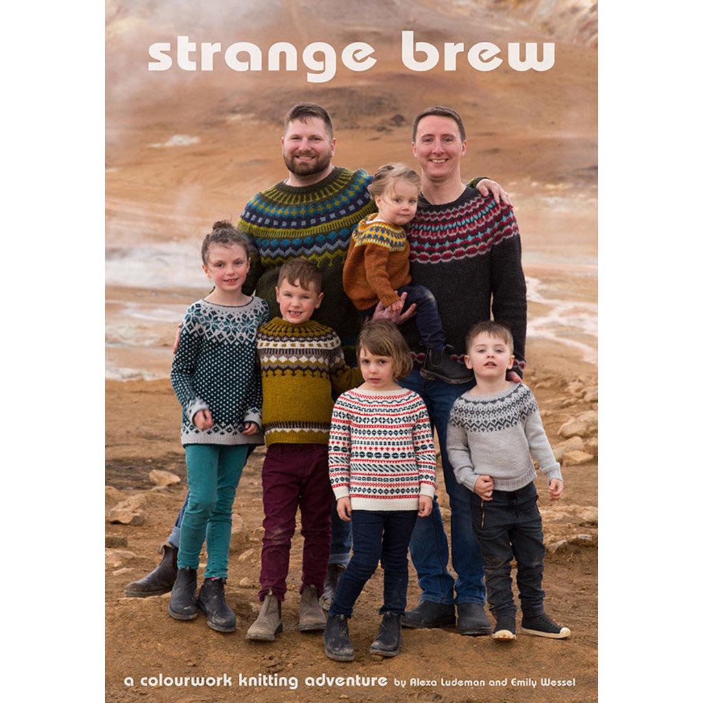Livre, Strange Brew - A colourwork knitting adventure - Tin Can Knits
