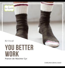 Kit You better work socks