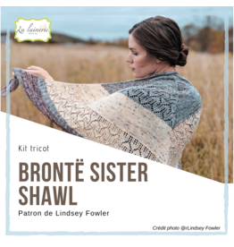 Kit Brontë Sister Shawl