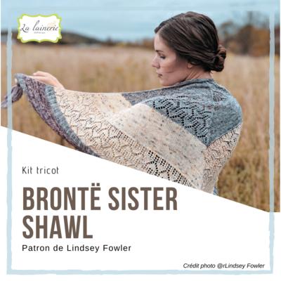 Kit Brontë Sister Shawl