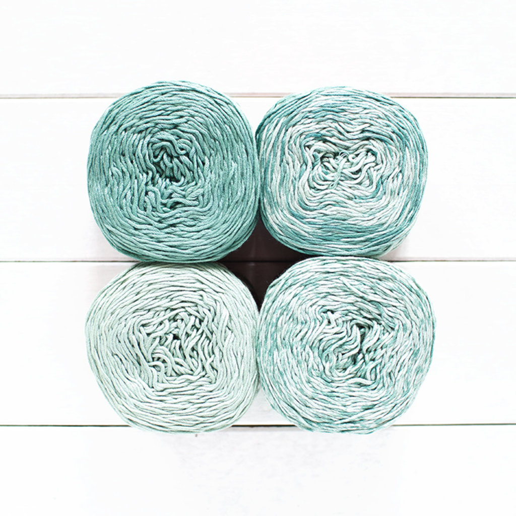 Feza Yarns Feza, 4 Shades Gradient Kit