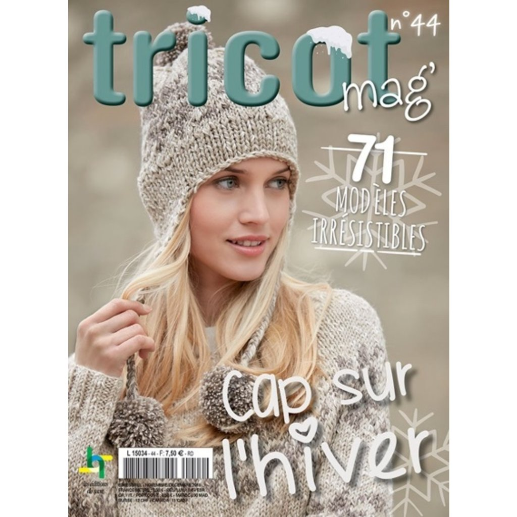 Livre, Tricot mag no44 - Cap sur l'hiver