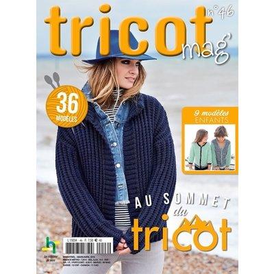 Livre, Tricot Mag no46 - Au sommet du tricot
