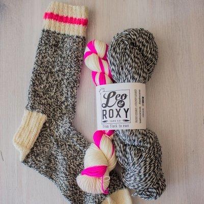 Leo&Roxy Leo and Roxy , Marled Sock kit