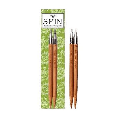ChiaoGoo ChiaoGoo, Spin Bamboo Interchangeable Tips5''