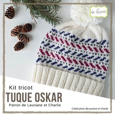 Sandnes Garn Kit Tuque Oskar