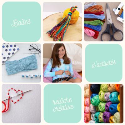 Box of activities - Creative week