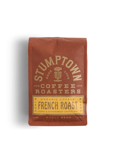 French Roast Blend Organic Coffee 12oz. Whole Bean
