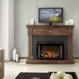 Napoleon The Braxton Product Code - NEFP29-1215BW Electric Fireplace Mantels/Entertainment Package
