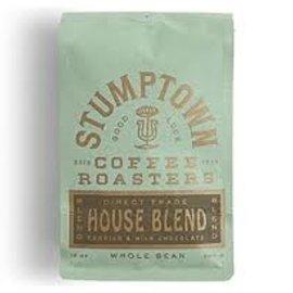 Stumptown Coffee Roasters House Blend Coffee Direct Trade 12 oz Whole Bean