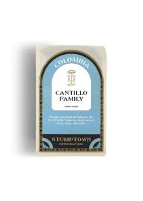 Columbia Cantillo Family Direct Trade Coffee 12 oz Whole Bean