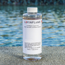 Lovin Flame Fuel 1.0 Liter Bottle Lovinflame