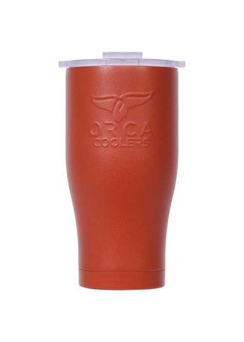 ORCA Burnt Orange/White 27oz Chaser ORCA