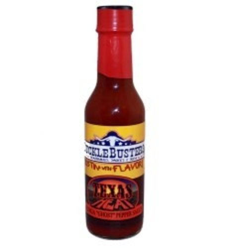 SuckleBusters Texas Heat Ghost Chili Pepper Sauce 5 oz