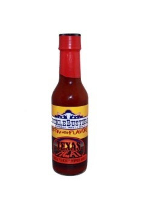 Sucklebuster Texas Heat Ghost Chili Pepper Sauce 5 oz