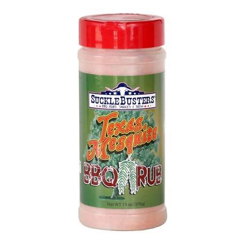 SuckleBusters Texas Mesquite BBQ Rub 13 oz