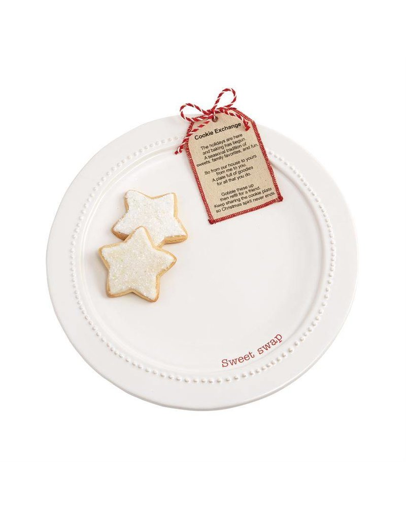 Mud Pie Mud Pie Cookie Exchange Plate