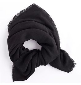Mud Pie Mud Pie Luna Scarf Black