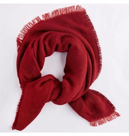 Mud Pie Mud Pie Luna Scarf Red