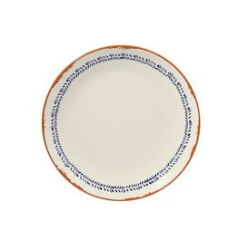 Mud Pie Mud Pie Bungalow Dinner Plate