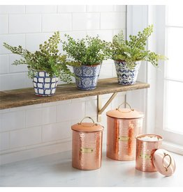 Mud Pie Mud Pie Copper Canister Set