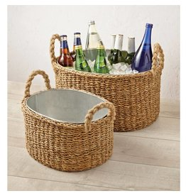 Mud Pie Mud Pie Seagrass Party Tub