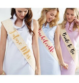 Mud Pie Mud Pie Wedding Sash