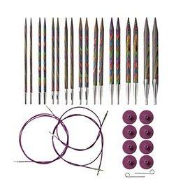 Knit Picks Knit picks ensemble d'aiguilles circulaire bois (rainbow)