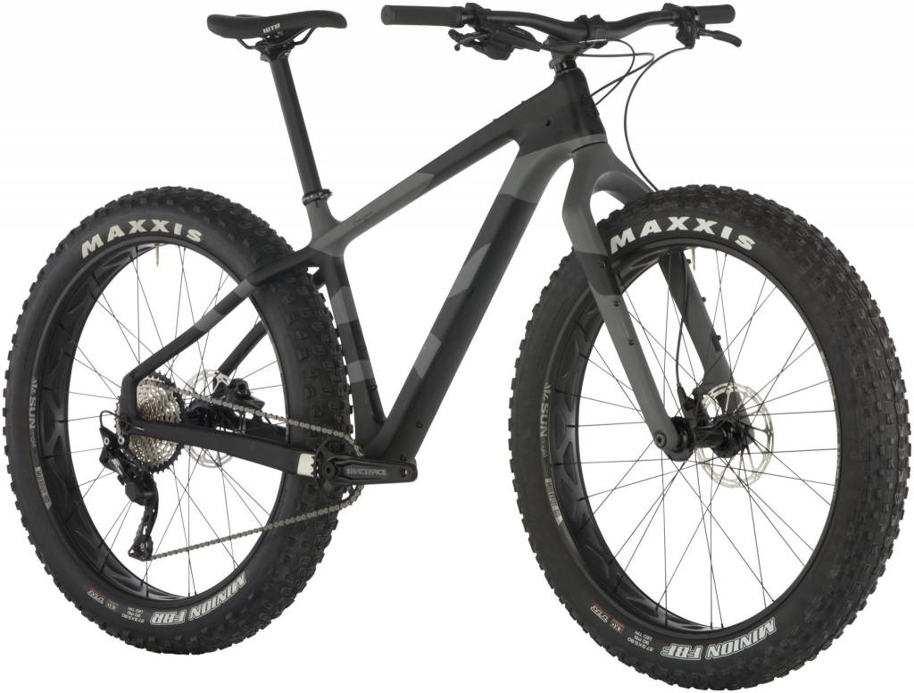 Salsa 2019 Salsa Beargrease Carbon Deore 1x Bike LG Black