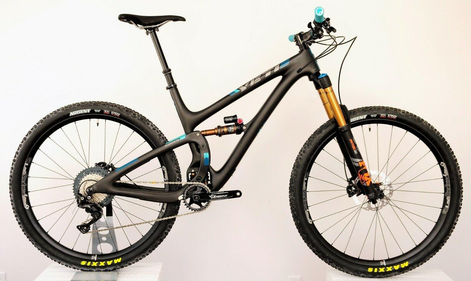 Yeti 2018 Yeti SB5.5, Turq Carbon, Large, XT Build, Fox 36, i9 Wheels