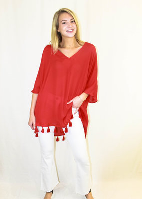 Show Me Your Mumu Show Me Your Mumu Shook Tassel Tunic
