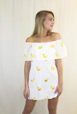 Show Me Your Mumu Show Me Your Mumu Can Can Dress with Banana Mini Prints
