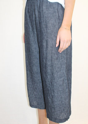 It Is Well Linen Pant with Slit Detail