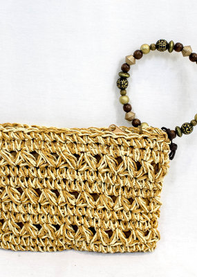 Dorfman Pacific Dorfman Pacific Wristlet w/ Animal Beads