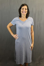 Mododoc Mododoc Midi Oversized T-Shirt Dress
