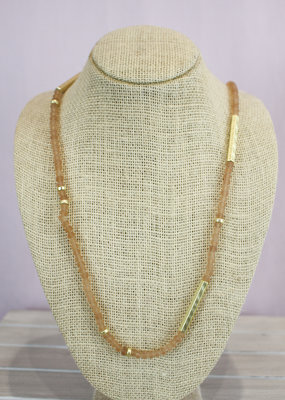 John Michael Richardson Jewelry Long Beaded Necklace