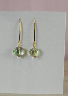 John Michael Richardson Jewelry Clear Dangle Earring