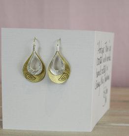 John Michael Richardson Jewelry Swirl Detail Earring